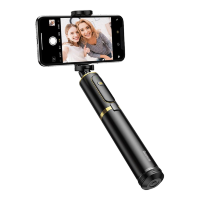 Монопод Baseus Fully Folding Selfie Stick Чёрный с золотом