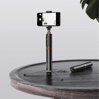 Монопод Baseus Fully Folding Selfie Stick Чёрный с красным